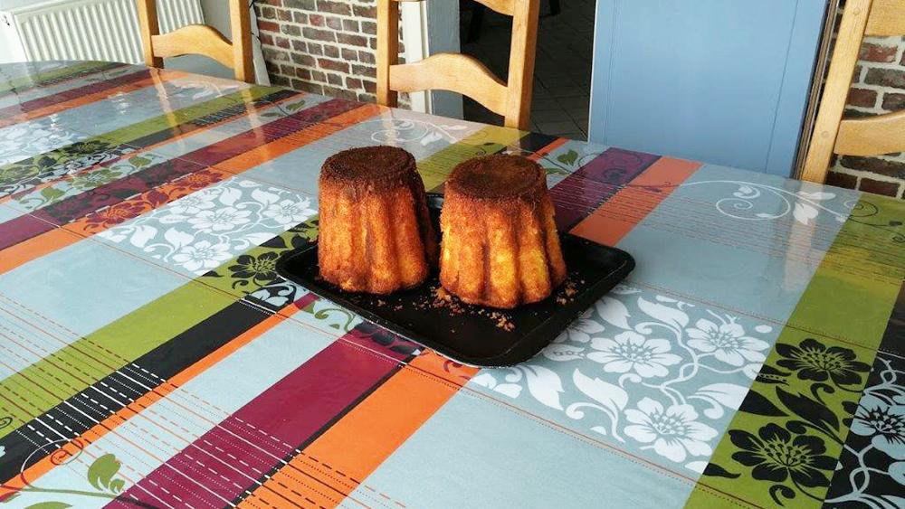 gâteaux battus